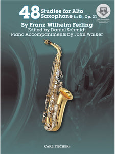 Franz Wilhelm Ferling: 48 Studies For Alto Saxophone In Eb Op. 31
