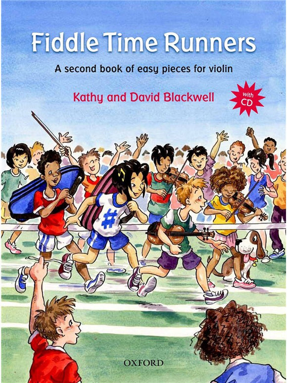 Kathy And David Blackwell: Fiddle Time Runners (Book/CD)