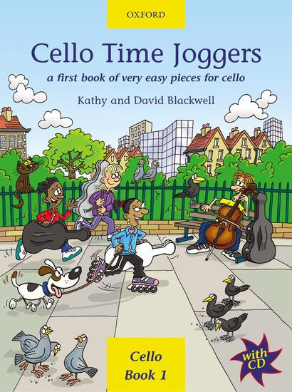 Kathy And David Blackwell: Cello Time Joggers (Book/CD)
