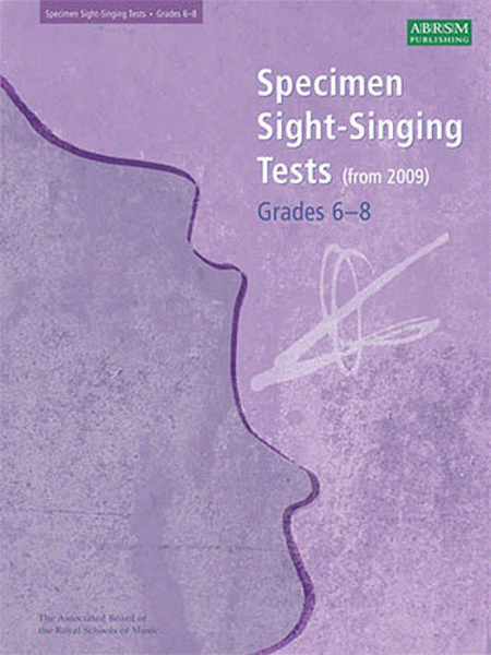 ABRSM: Sight-Singing Tests Grades 6-8