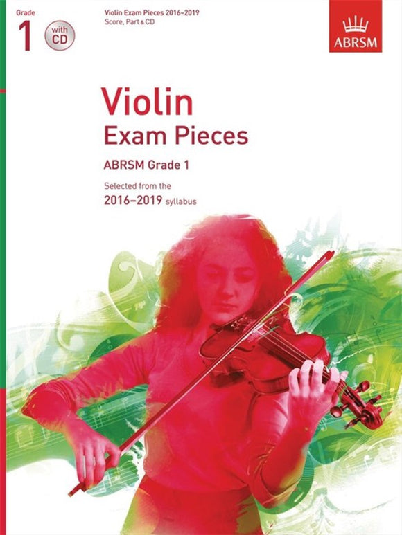 ABRSM: Violin Exam Pieces 2016-2019  Grade 1 (Book/CD)