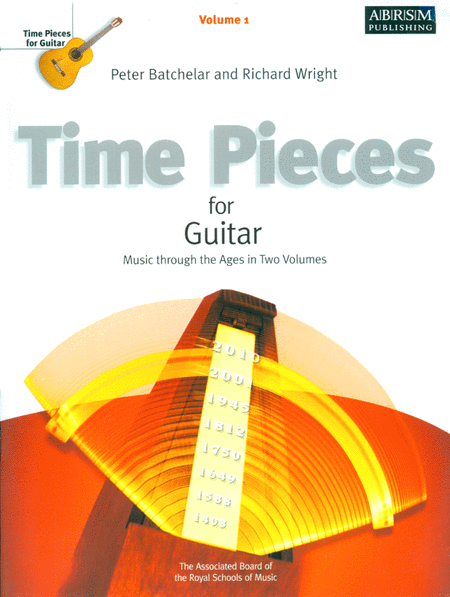 ABRSM: Time Pieces For Guitar Volume 1  (Grades 1-2)