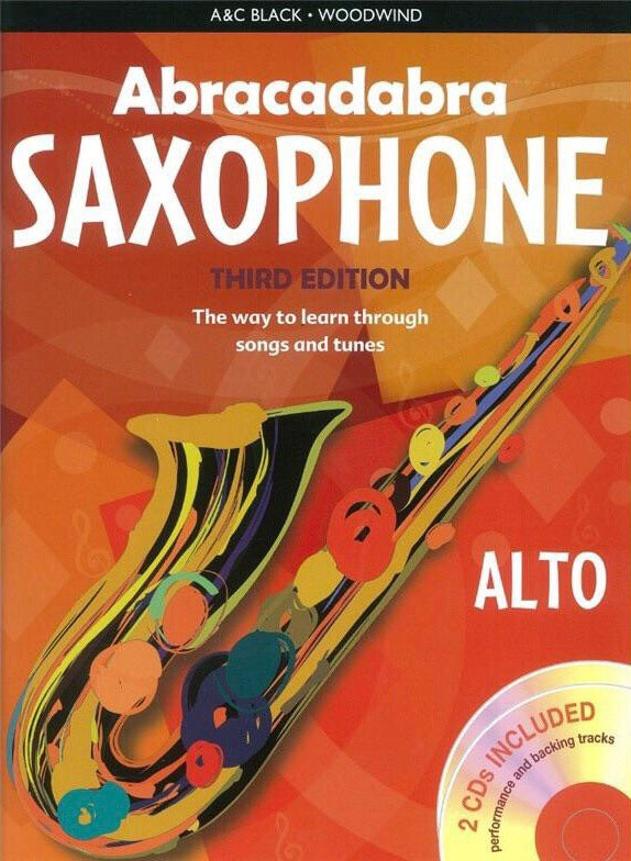 Abracadabra Alto Saxophone: Third Edition (Book/CD)