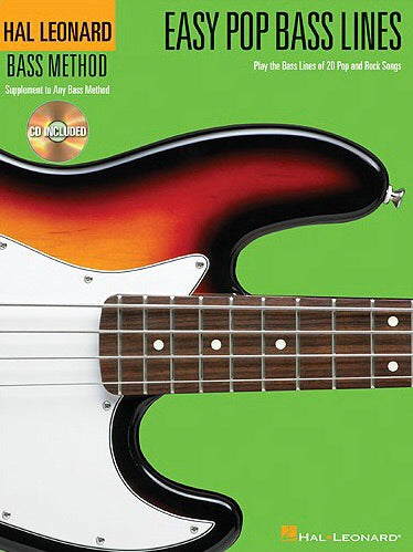 Hal Leonard: Easy Pop Bass Lines