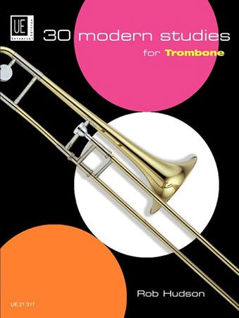 Rob Hudson: 30 Modern Studies For Trombone (Bass Clef)