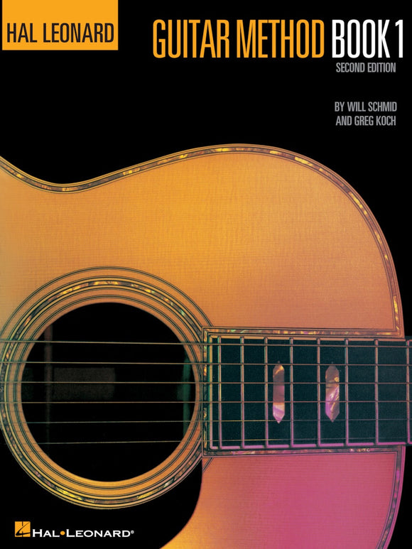 Hal Leonard: Guitar Method Book 1 Second Edition