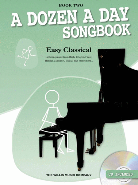 A Dozen A Day: Songbook Piano Easy Classical Book 2 (Book/CD)