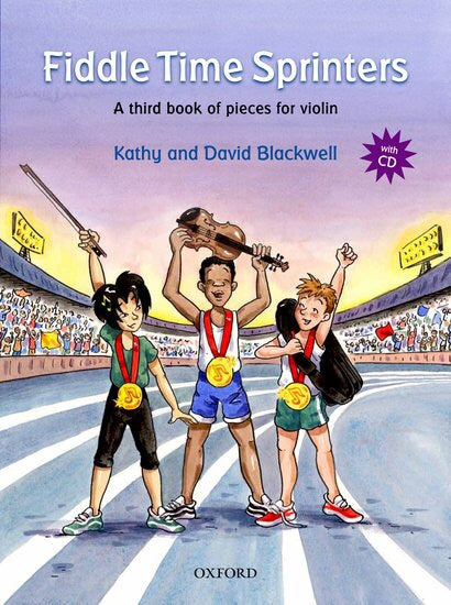 Kathy And David Blackwell: Fiddle Time Sprinters (Book/CD)