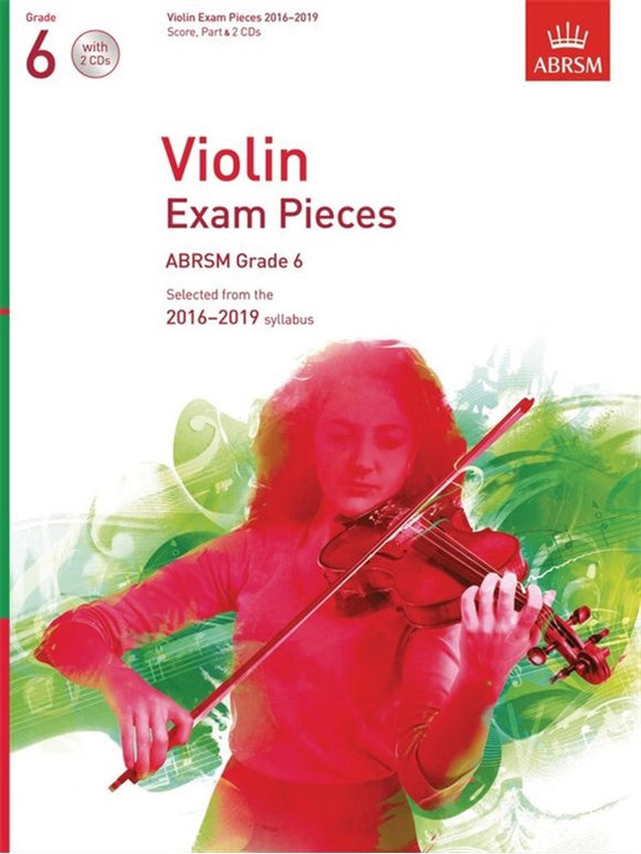 ABRSM: Violin Exam Pieces 2016-2019  Grade 6 (Book/CD)