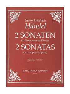 G. F. Handel: 2 Sonatas For Trumpet And Piano