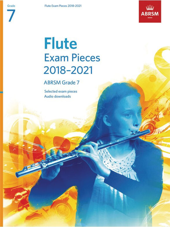 ABRSM: Flute Exam Pieces 2018-2021 Grade 7 (Book/Download)
