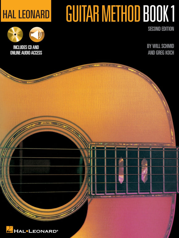Hal Leonard: Guitar Method Book 1 Second Edition With CD