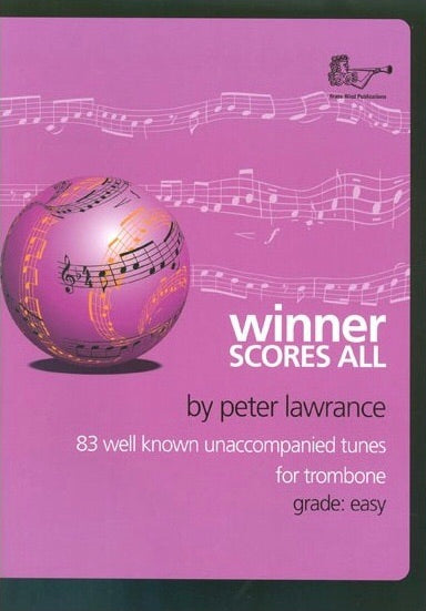 Winner Scores All For Trombone (Bass Clef)