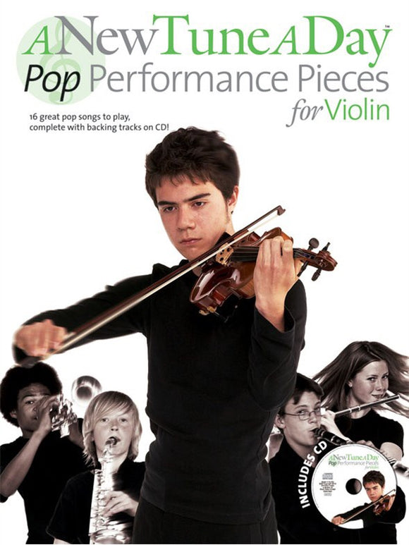 A New Tune A Day: Pop Performance Pieces For Violin (CD Edition)