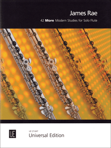 James Rae: 42 More Modern Studies For Solo Flute