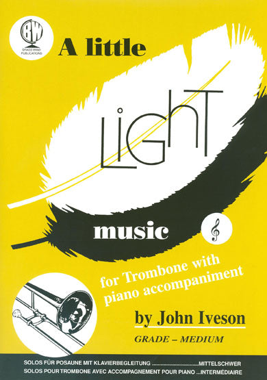 A Little Light Music For Trombone (Treble Clef)