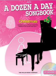 A Dozen A Day: Songbook Christmas Mini Piano (Book/CD)