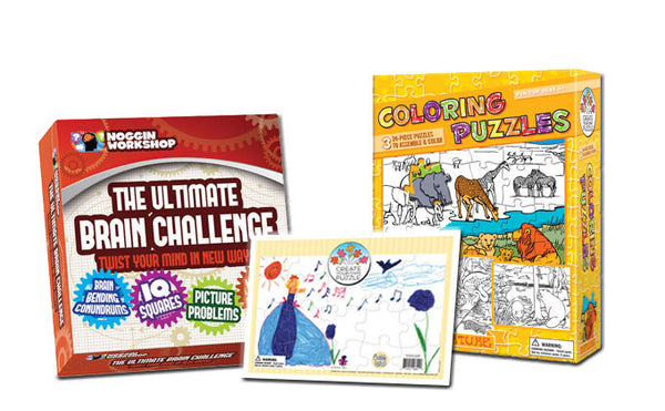 PUZZLES   |   lots of family fun with these innovative sets