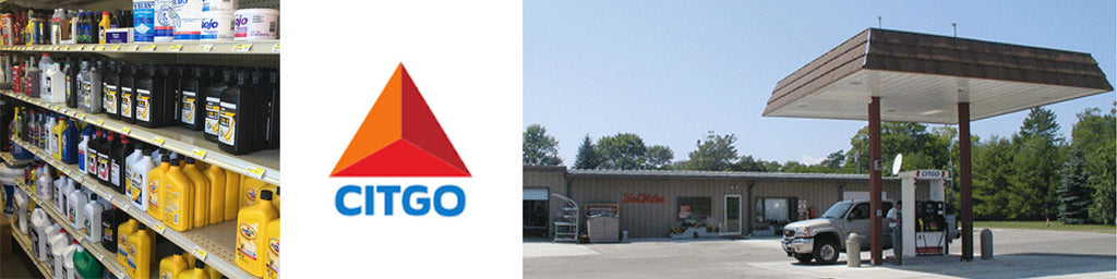 Citgo Gas Station at Mann's Mercantile - True Value