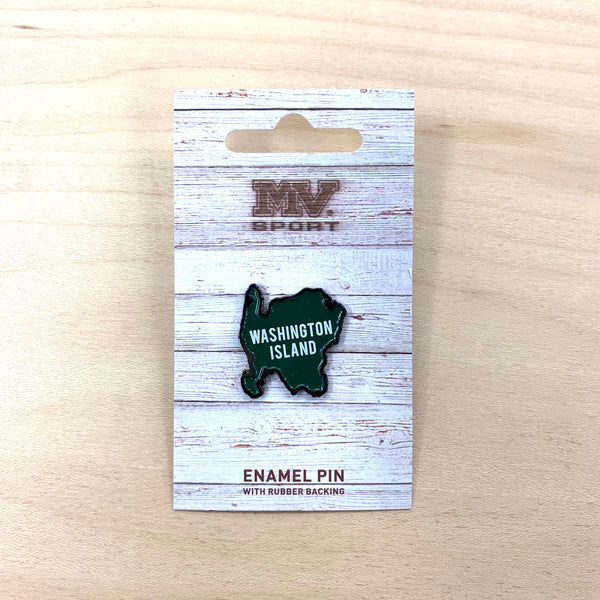 Washington Island Enamel Pin