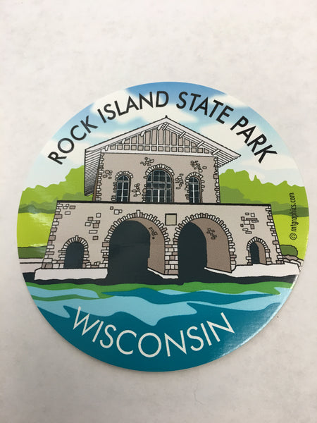 Rock Island State Park Sticker/Decal