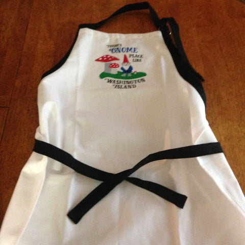 There's Gnome Place Like Washington Island Apron