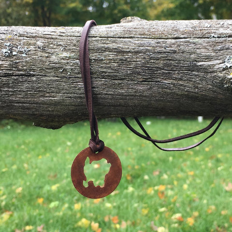 Copper Washington Island Necklace