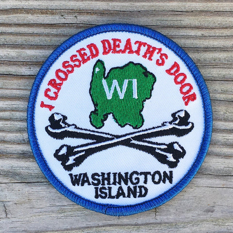 I Crossed Death's Door Patch