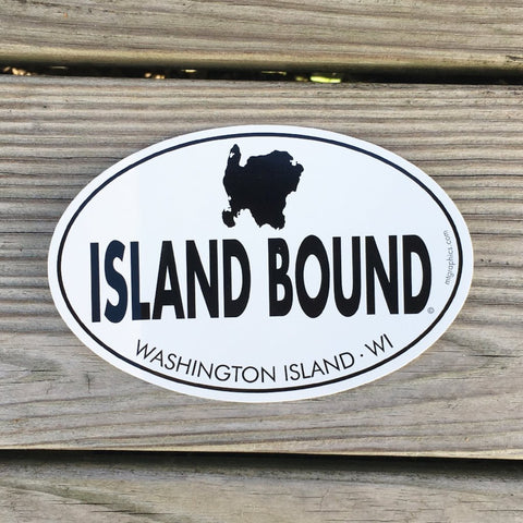 Island Bound Decal/Sticker