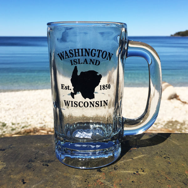 Washington Island Beer Stein