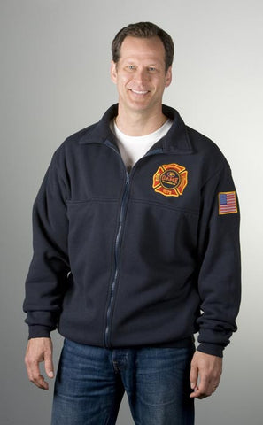 Game Sportswear <br> Full Zip <br> Fireman's Workshirt  <br>#8075