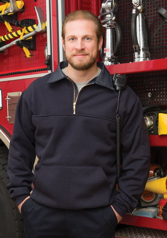 Game Sportswear<br>Firefighter's Work<br>Shirt w/ Pouch<br>#850-P