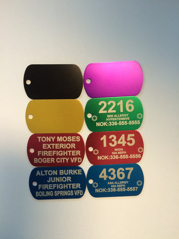 Accountability Tag Set with no Hardware