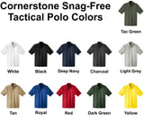 CornerStone Select <br> No Snag Tac Polo <br /> Short Sleeve <br /> 11 Colors Available