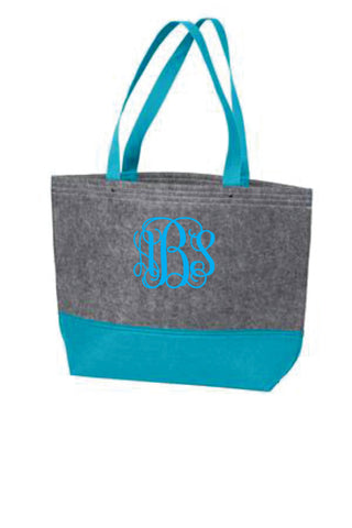 Felt Tote Bag - Medium Size<br />7Colors Available