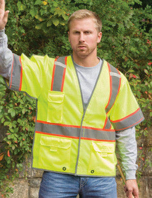 Game Sportswear<br> ANSI-3 Traffic Vest <br> #I-487