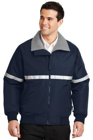 Port Authority<br> Reflective Striped Challenger Jacket <br> J754R