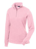 1/4 Zip Sport Tec Open Hem Sweatshirt <br /> 11 Colors Available!