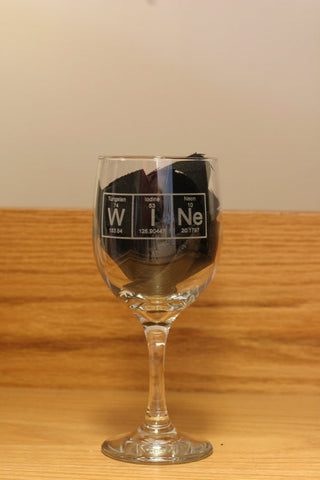 Periodic Table WINe Glass