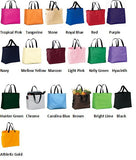 Tote Bags<br />16 Colors Available