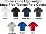 CornerStone Select <br> Lightweight Snag-Free <br /> Tac Polo <br /> 7 Colors Available