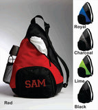 Personalized Sling Backpack <br /> Added Capacity <br />5 Colors Available
