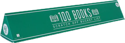 100 Books Scratch Off Bucket List