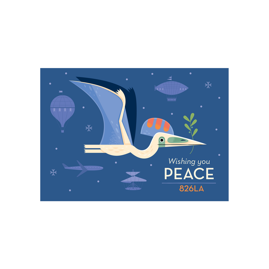 Wishing You Peace Holiday Card 2018