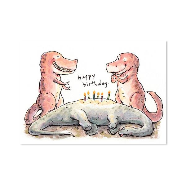 Happy Birthday- Dino Cake