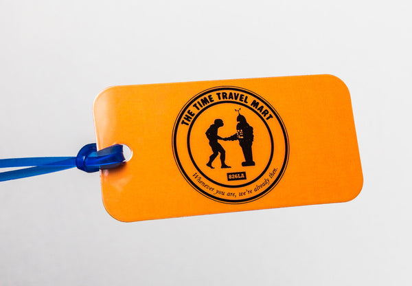 Time Travel Mart Luggage Tag