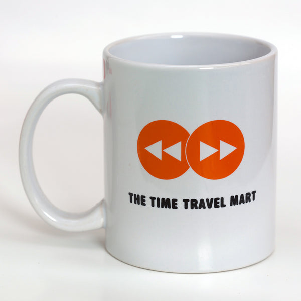 Time Travel Mart Logo Mug