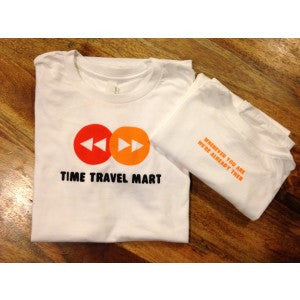 Time Travel Mart Logo T-Shirt (Adult)
