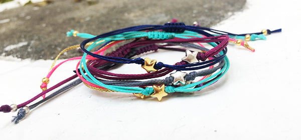The little Star Friendship Bracelet
