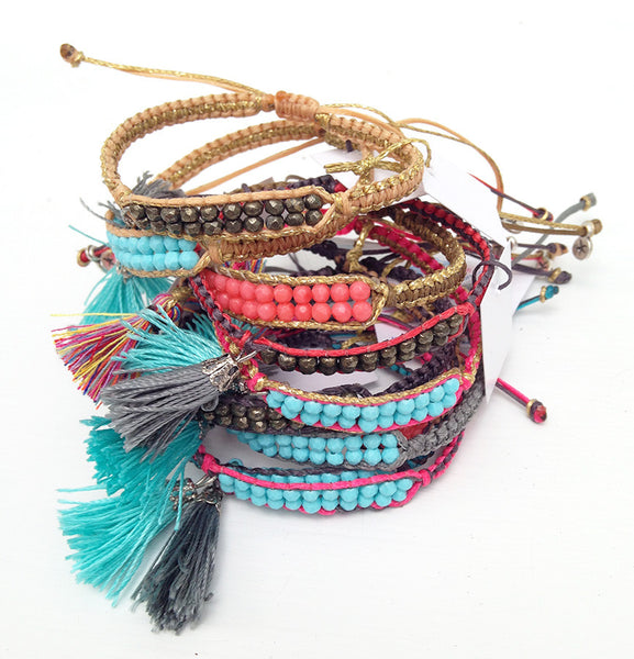 The Tassel Semi Precious Bracelet